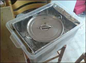 Modern haybox cooker