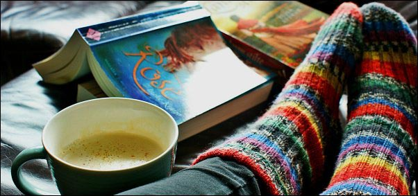 cozy socks, mug, book, giving back to your community, spheres of influence, personal giving plan, gratitude