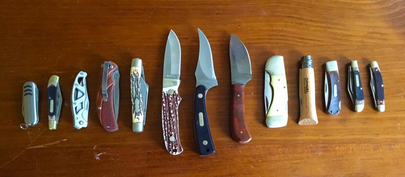 Homesteading Requires A Keen Edge Knives On The Homestead