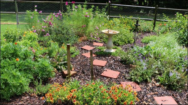 secret to a weed-free garden