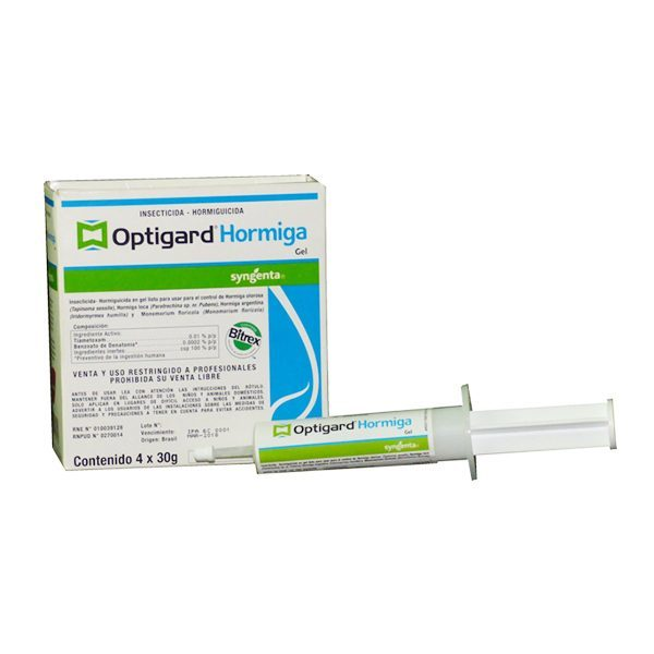 OPTIGARD HORMIGAS GEL 30 GR x 4 UNIDADES
