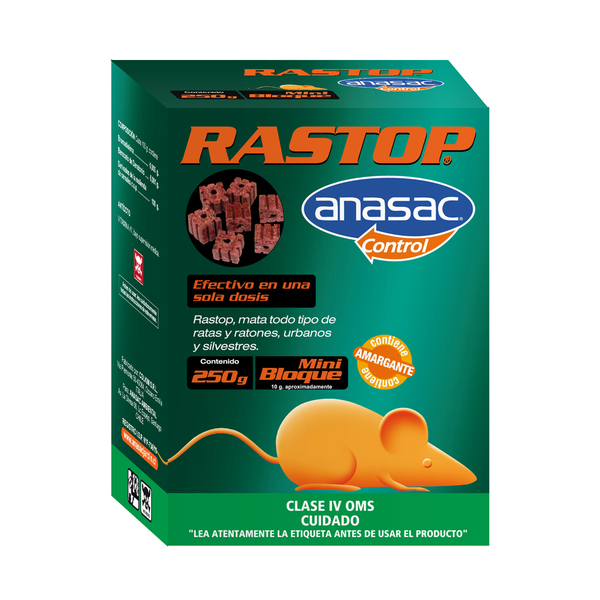 MINI BLOQUE  RASTOP 250 GRS.
