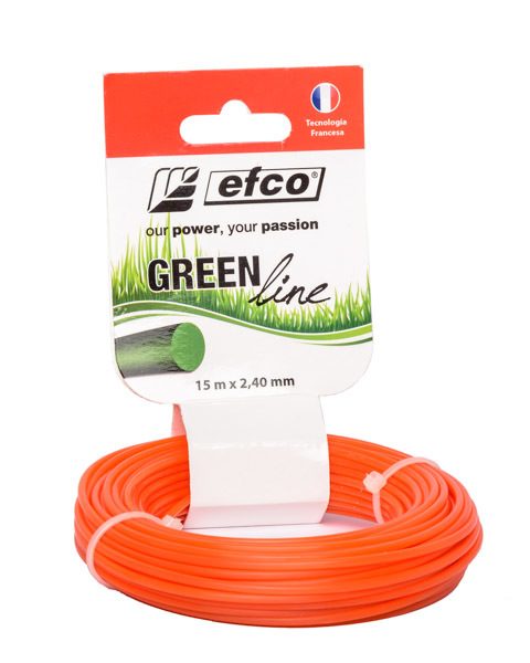 NYLON 2,4 MM 15 MTS EFCO