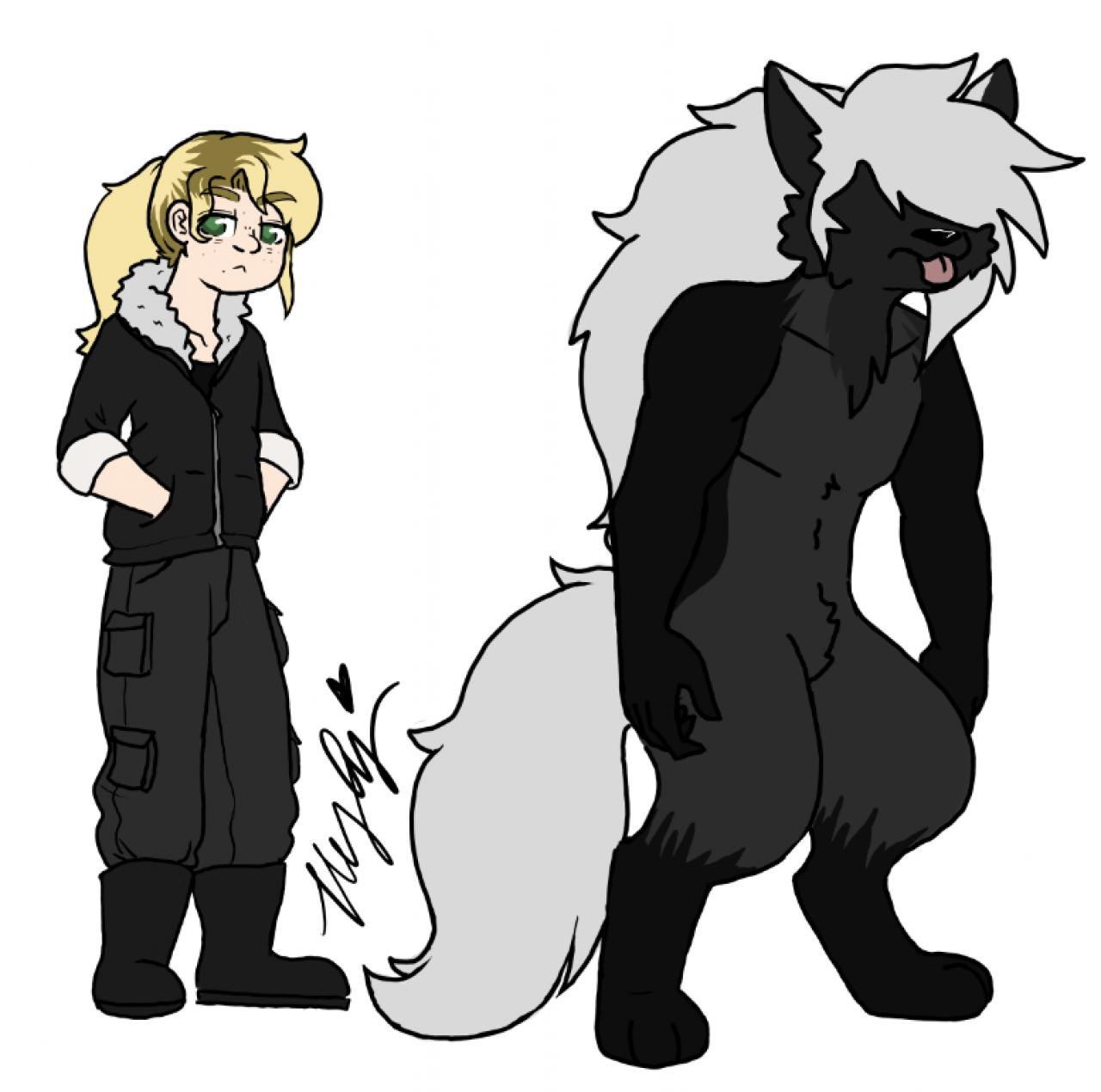 MeandWerewolfme