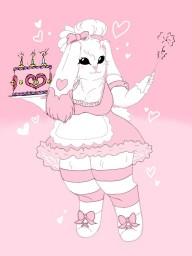 A Lovely Bakery Bunny