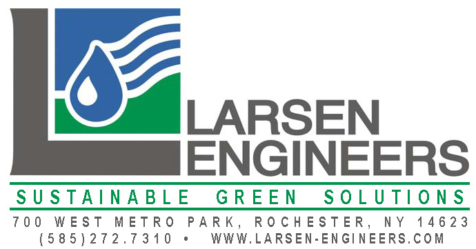 Logo with Sustainable green solutions