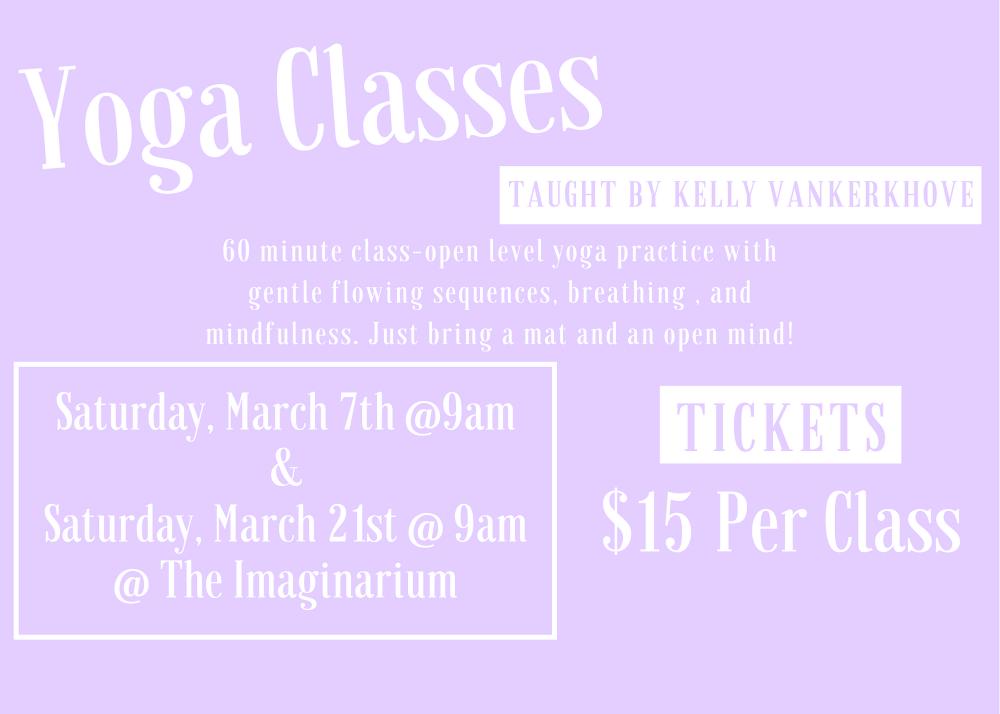 Yoga Class Mini Posters