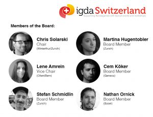 IGDA Switzerland Board Members