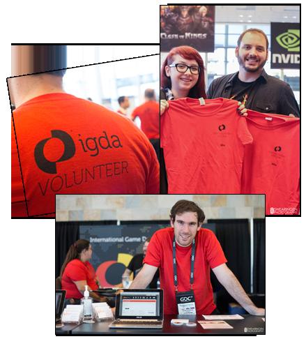 IGDA @ GDC volunteer montage