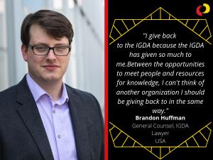 Volunteer Appreciation 2020: Brandon Huffman