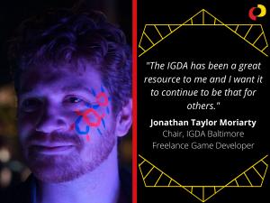 Volunteer Appreciation 2020: Jonathan Taylor Moriarty
