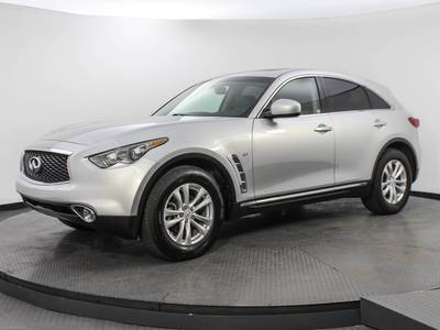 Used INFINITI QX70 2017 WEST PALM BASE