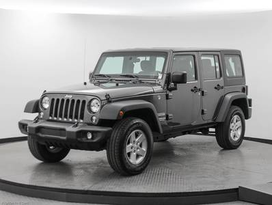 Used JEEP WRANGLER-UNLIMITED 2017 MARGATE SPORT