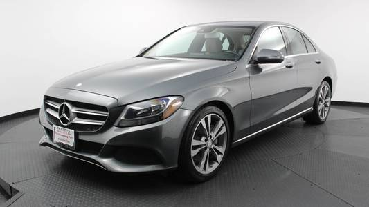 Used MERCEDES-BENZ C-CLASS 2017 WEST PALM C 300