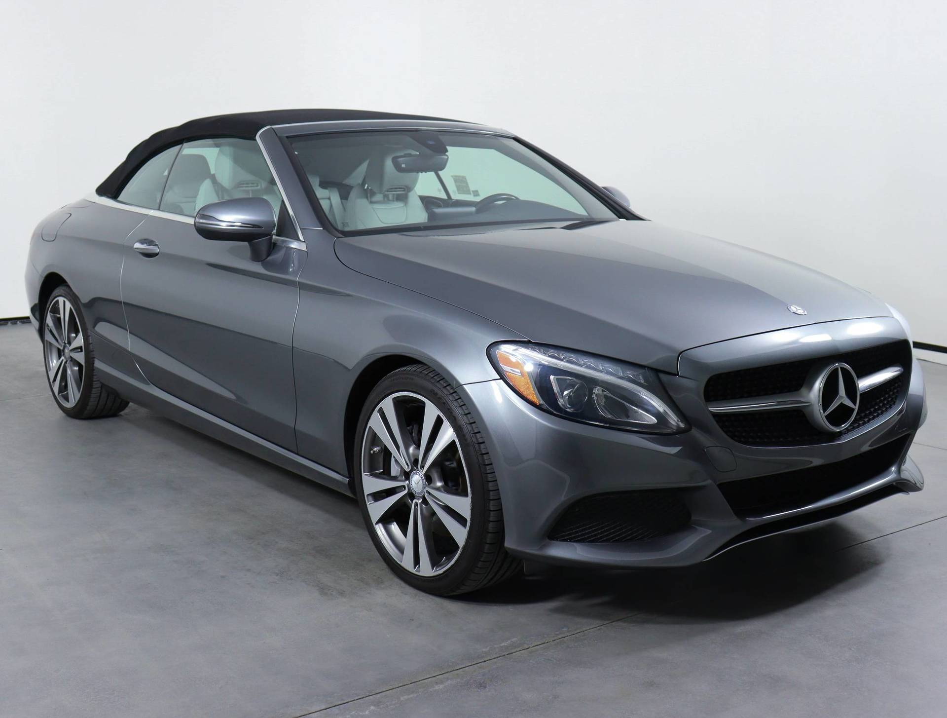 used vehicle - Convertible MERCEDES-BENZ C-CLASS 2017