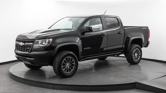 Used CHEVROLET COLORADO 2017 MIAMI 4WD ZR2