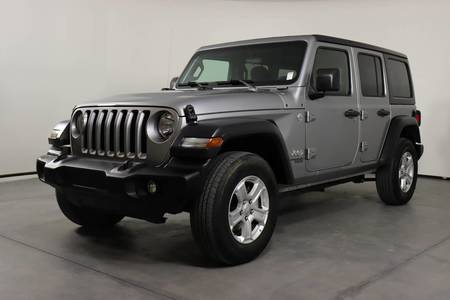 Used JEEP WRANGLER-UNLIMITED 2018 SAN ANTONIO SPORT S