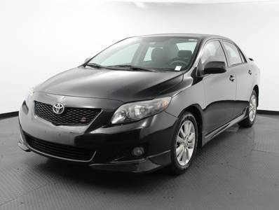 Used TOYOTA COROLLA 2009 WEST PALM S