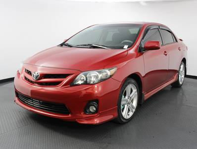 Used TOYOTA COROLLA 2011 WEST PALM S