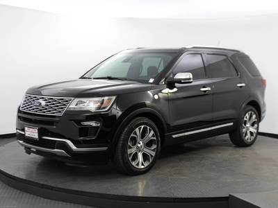 Used FORD EXPLORER 2018 WEST PALM PLATINUM