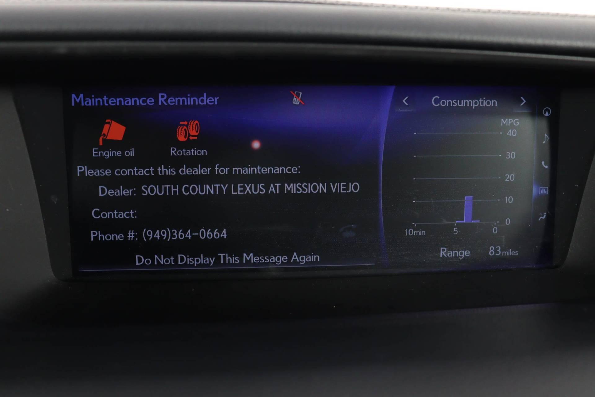 used vehicle - Sedan LEXUS GS 2018