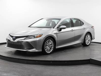 Used TOYOTA CAMRY 2018 MIAMI HYBRID XLE