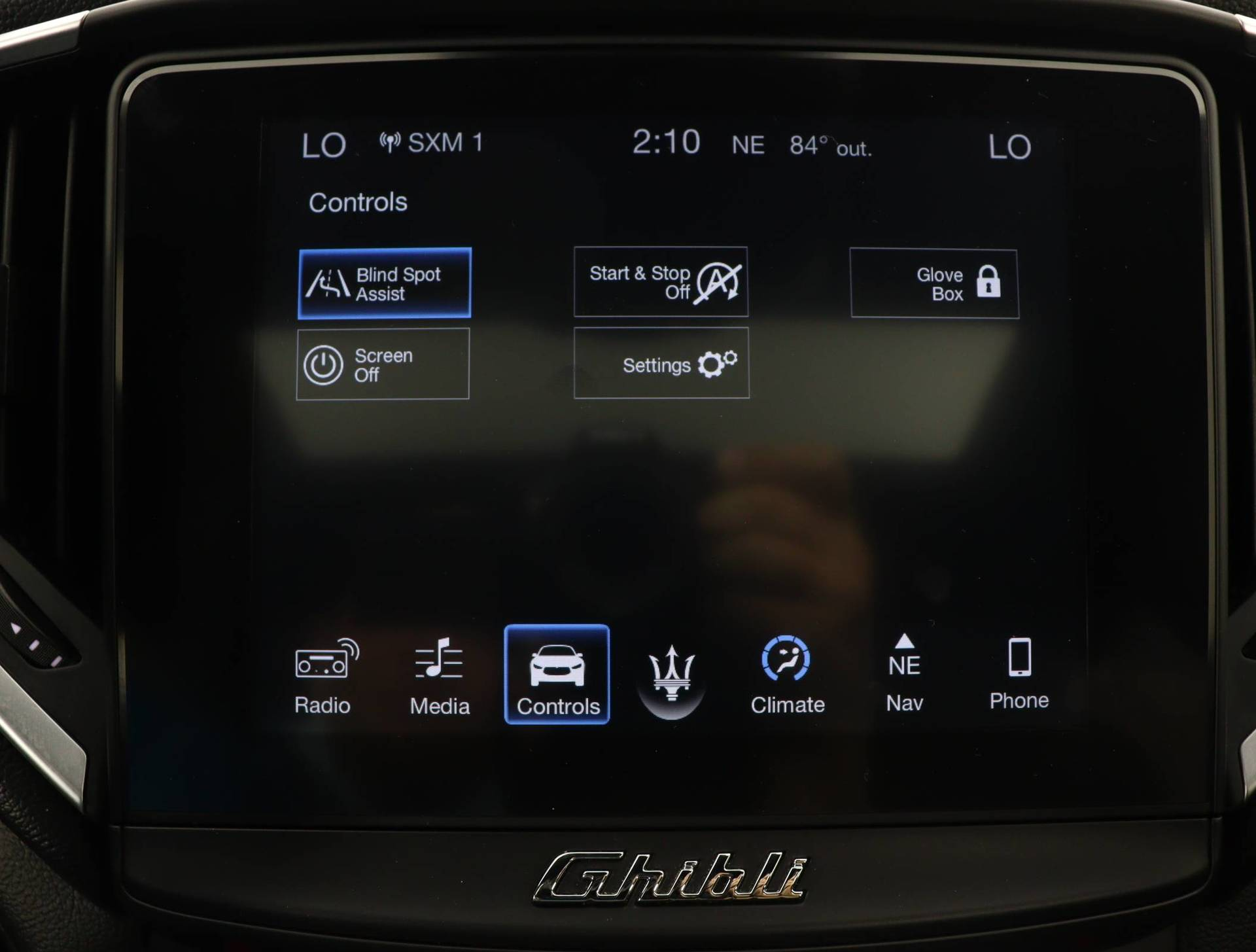 used vehicle - Sedan MASERATI GHIBLI 2018