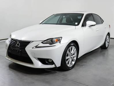 Used LEXUS IS-250 2015 SAN ANTONIO CRAFTED LINE