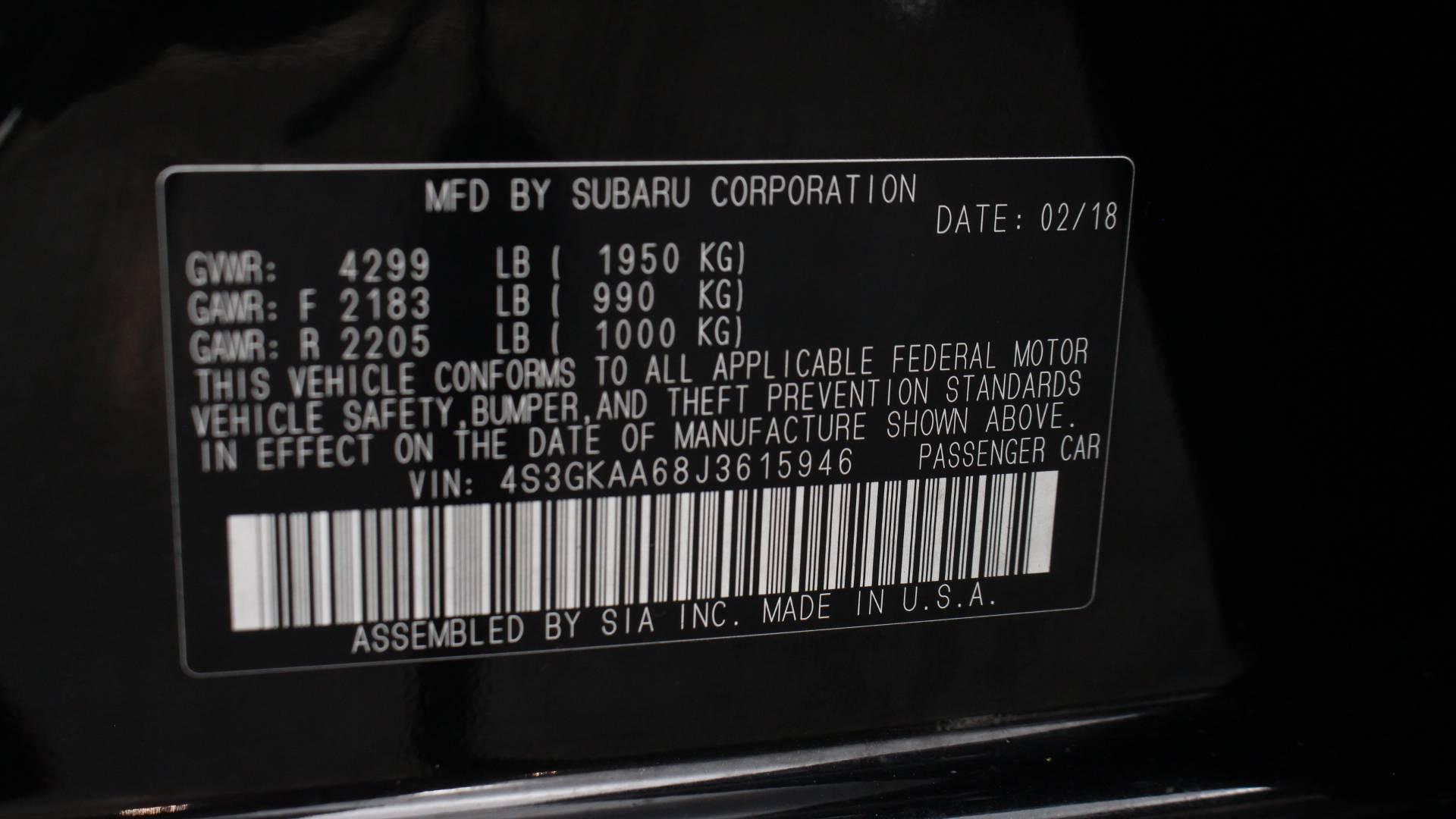 Florida Fine Cars - Used vehicle - Sedan SUBARU IMPREZA 2018