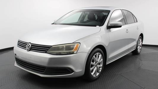 Used VOLKSWAGEN JETTA 2012 WEST PALM SE W/CONVENIENCE & SUNROOF