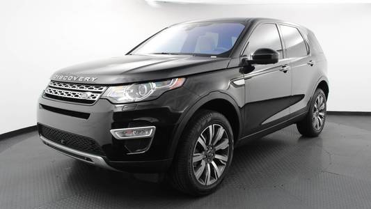Used LAND-ROVER DISCOVERY-SPORT 2017 WEST PALM HSE LUXURY