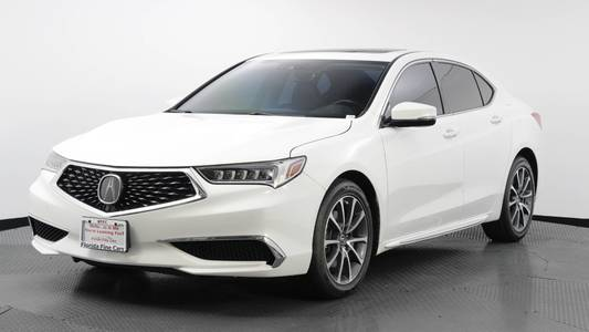 Used ACURA TLX 2018 WEST PALM W/TECHNOLOGY PKG