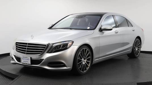 Used MERCEDES-BENZ S-CLASS 2017 WEST PALM S 550