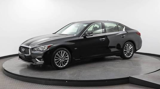 Used INFINITI Q50 2018 MARGATE 3.0T LUXE