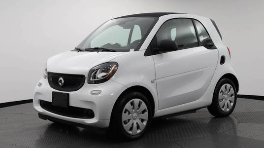 Used SMART FORTWO-ELECTRIC-DRIVE 2018 WEST PALM PURE