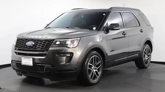 Used FORD EXPLORER 2018 WEST PALM SPORT