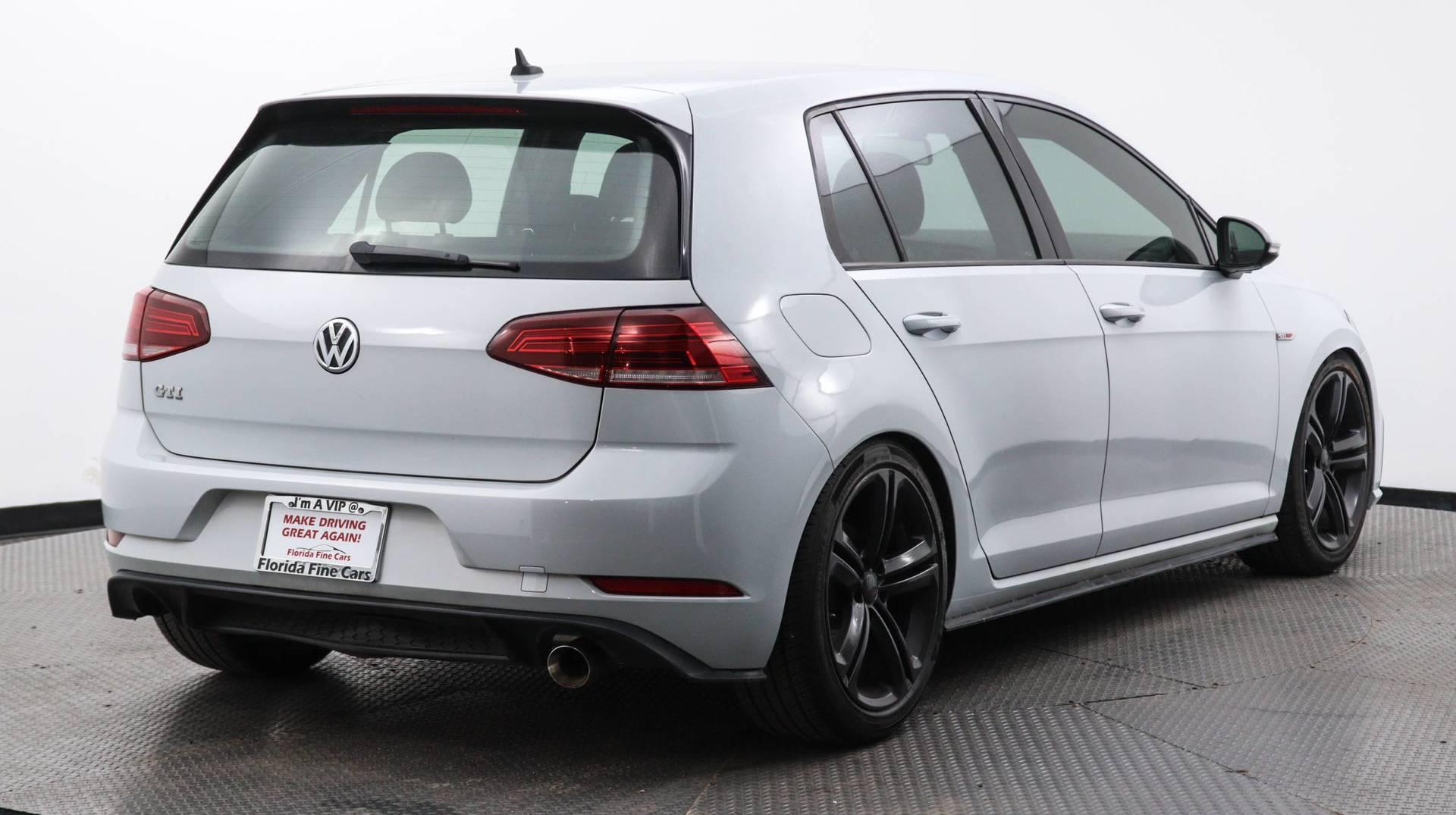 Florida Fine Cars - Used vehicle - Sedan VOLKSWAGEN GOLF GTI 2018