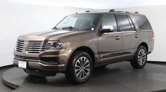 Used LINCOLN NAVIGATOR 2017 WEST PALM SELECT, Florida Fine Cars