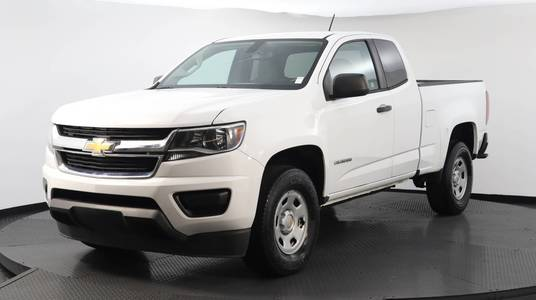 Used CHEVROLET COLORADO 2018 WEST PALM 2WD WORK TRUCK, Florida Fine Cars
