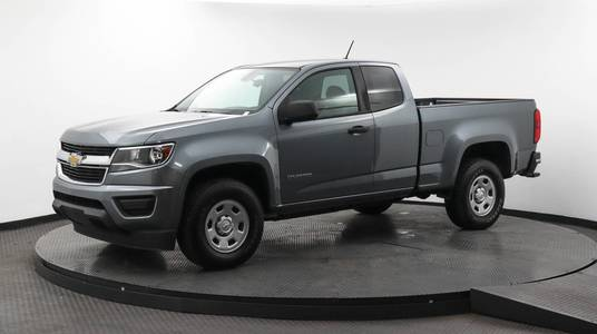 Used CHEVROLET COLORADO 2018 MARGATE 2WD WORK TRUCK, Florida Fine Cars