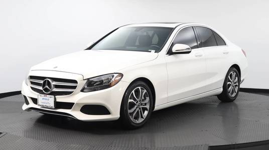 Used MERCEDES-BENZ C-CLASS 2018 WEST PALM C 300