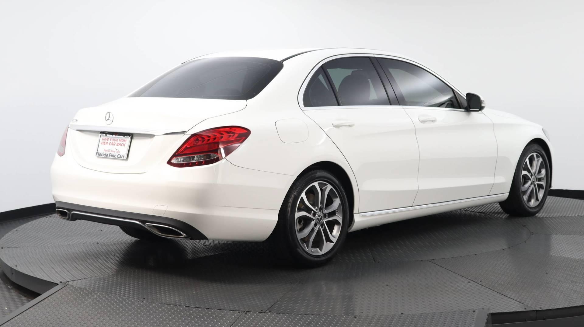 Florida Fine Cars - Used vehicle - Sedan MERCEDES-BENZ C-CLASS 2018