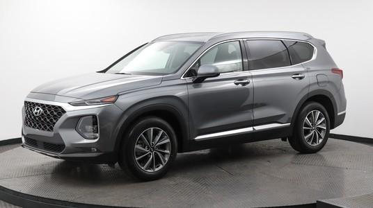 Used HYUNDAI SANTA-FE 2019 WEST PALM SEL PLUS, Florida Fine Cars