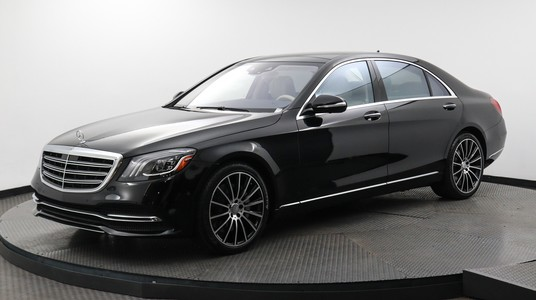 Used MERCEDES-BENZ S-CLASS 2018 MARGATE S 450, Florida Fine Cars