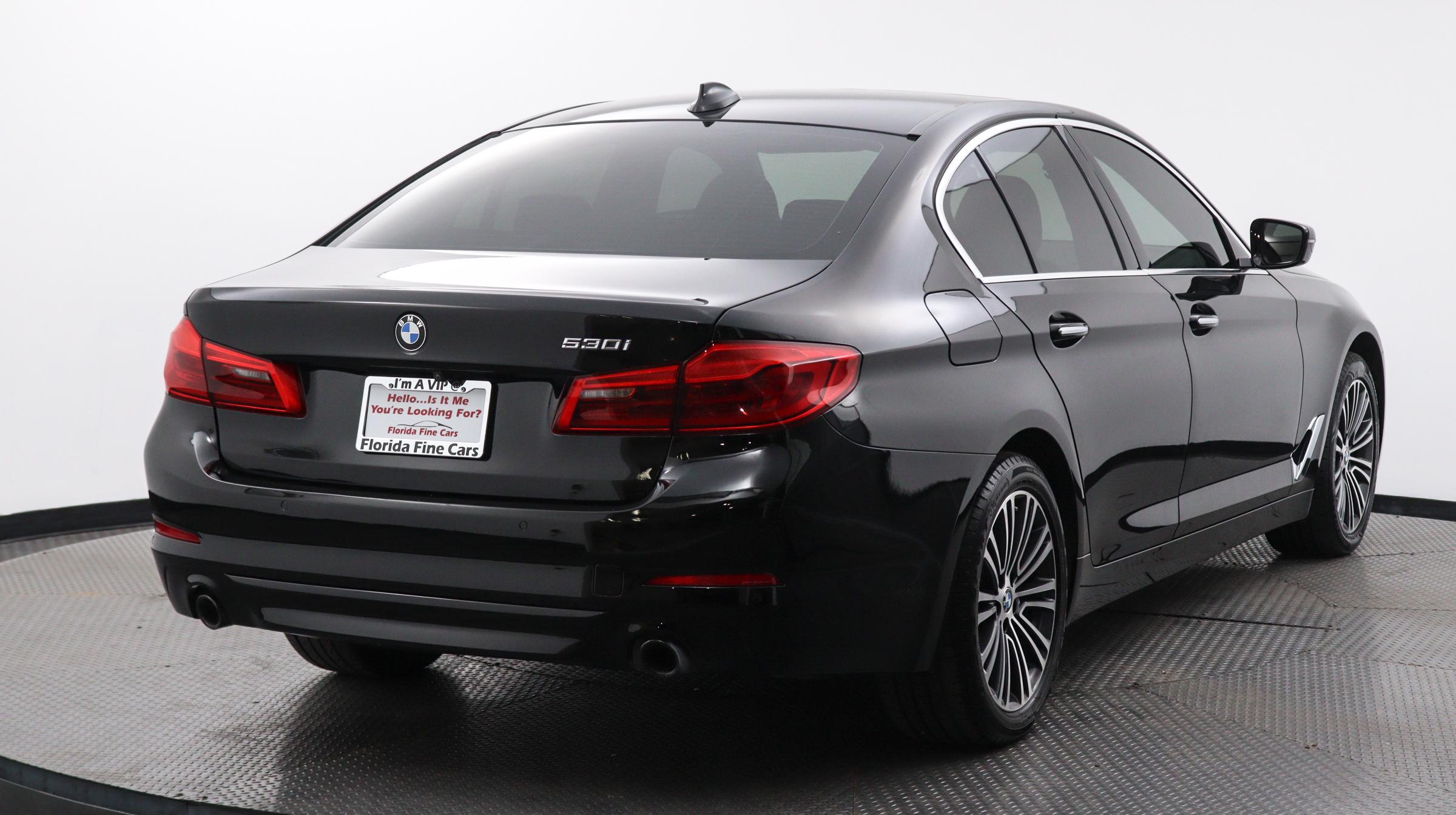 Florida Fine Cars - Used vehicle - Sedan BMW 5 SERIES 2018