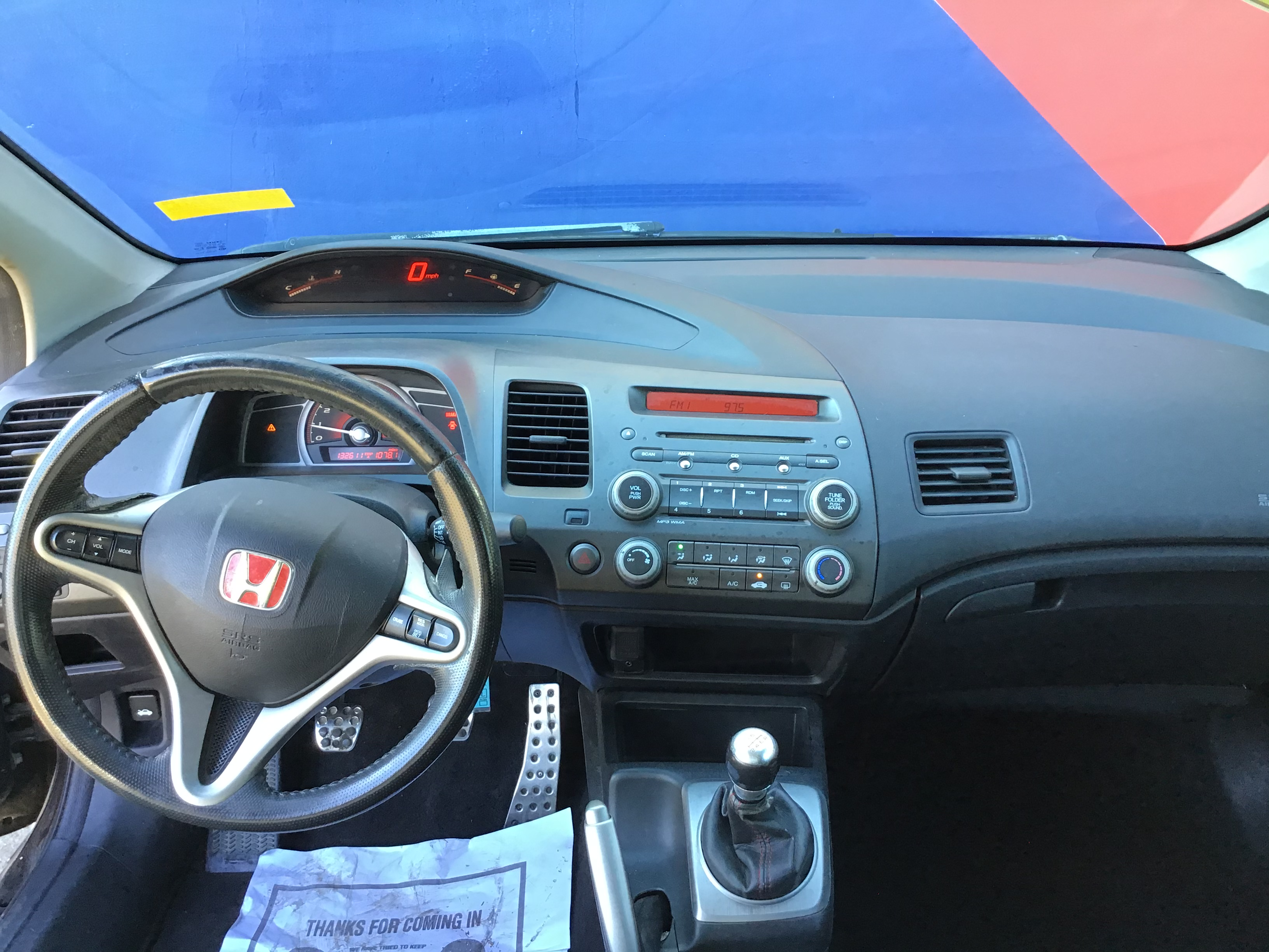 used vehicle - Coupe HONDA CIVIC CPE 2008