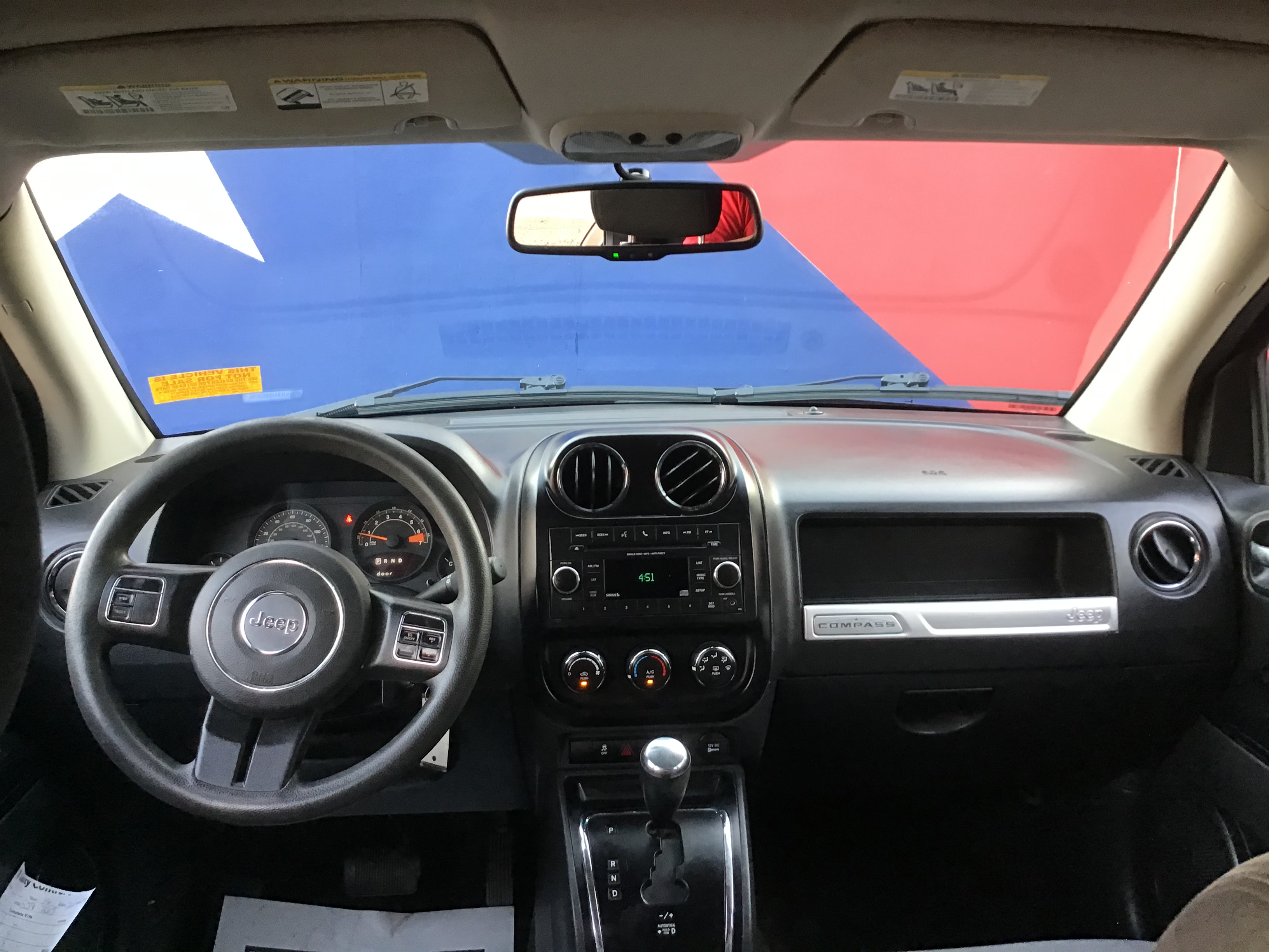 used vehicle - SUV JEEP COMPASS 2016