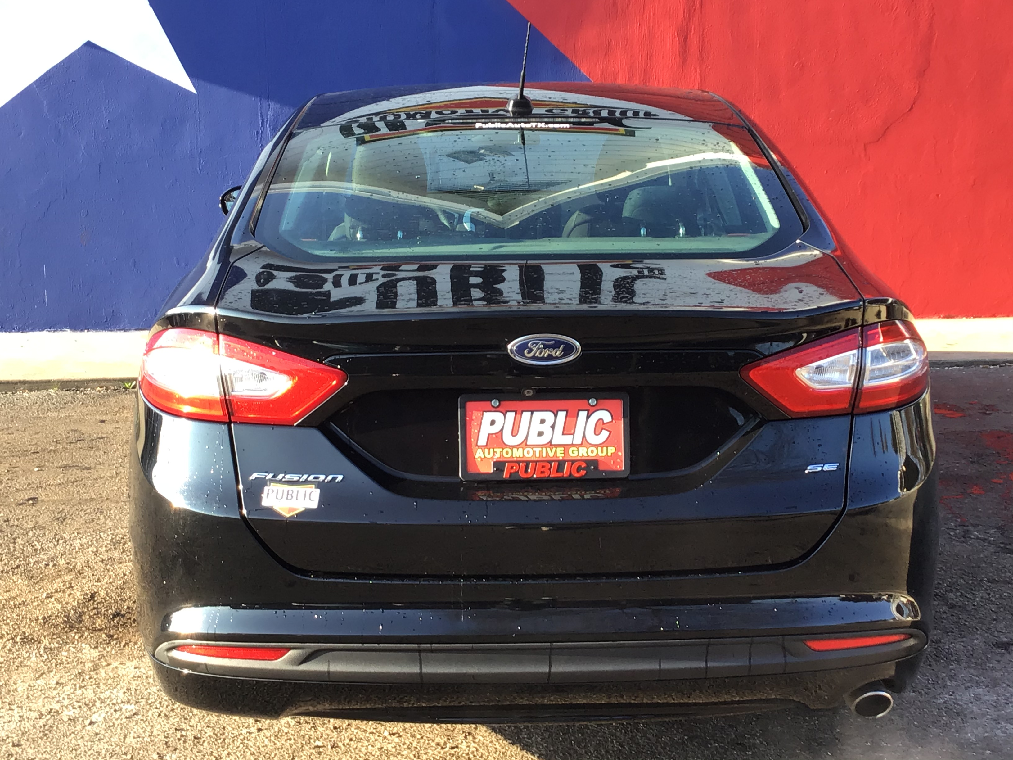 used vehicle - Sedan FORD FUSION 2016