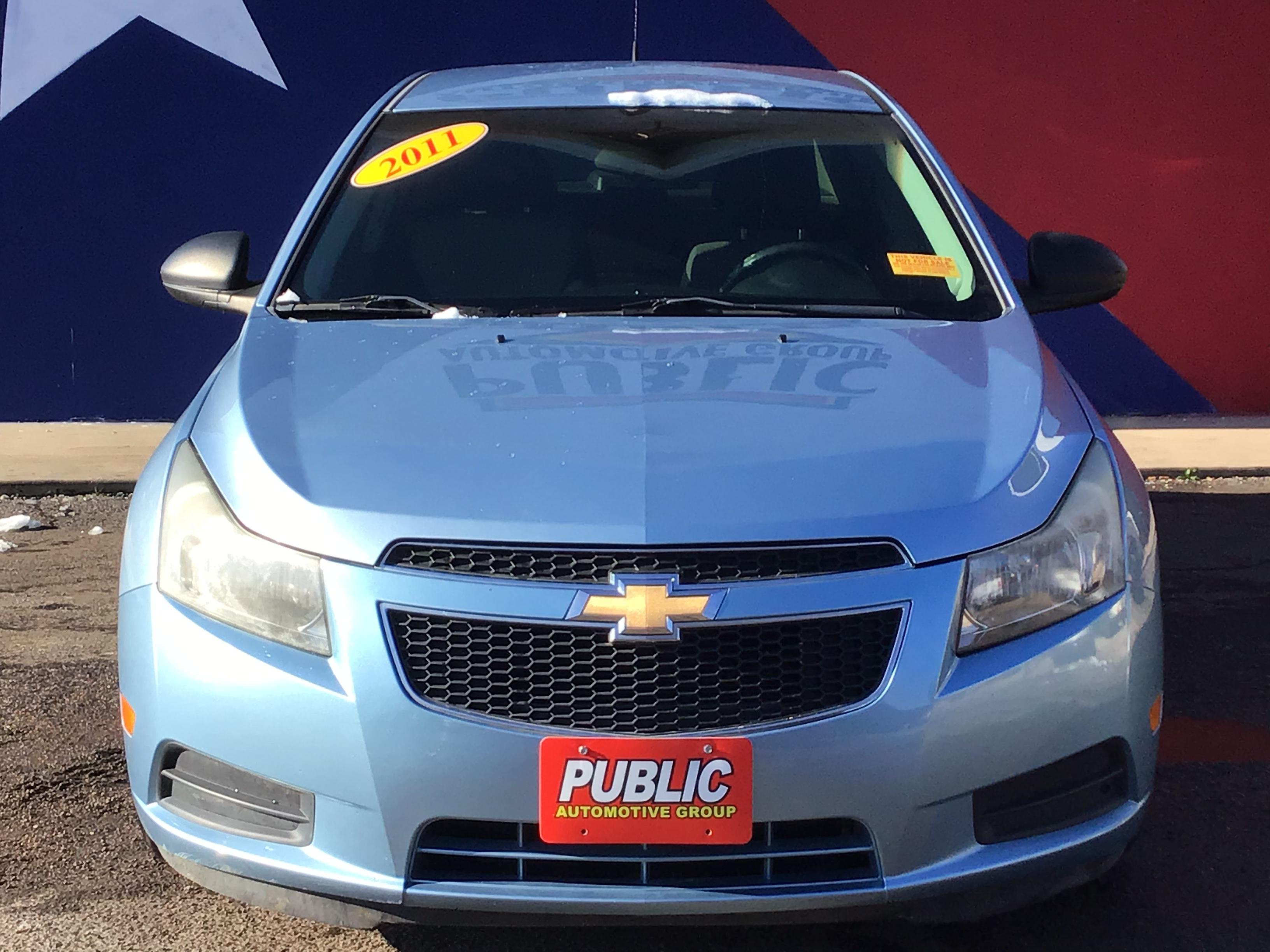used vehicle - Sedan CHEVROLET CRUZE 2011