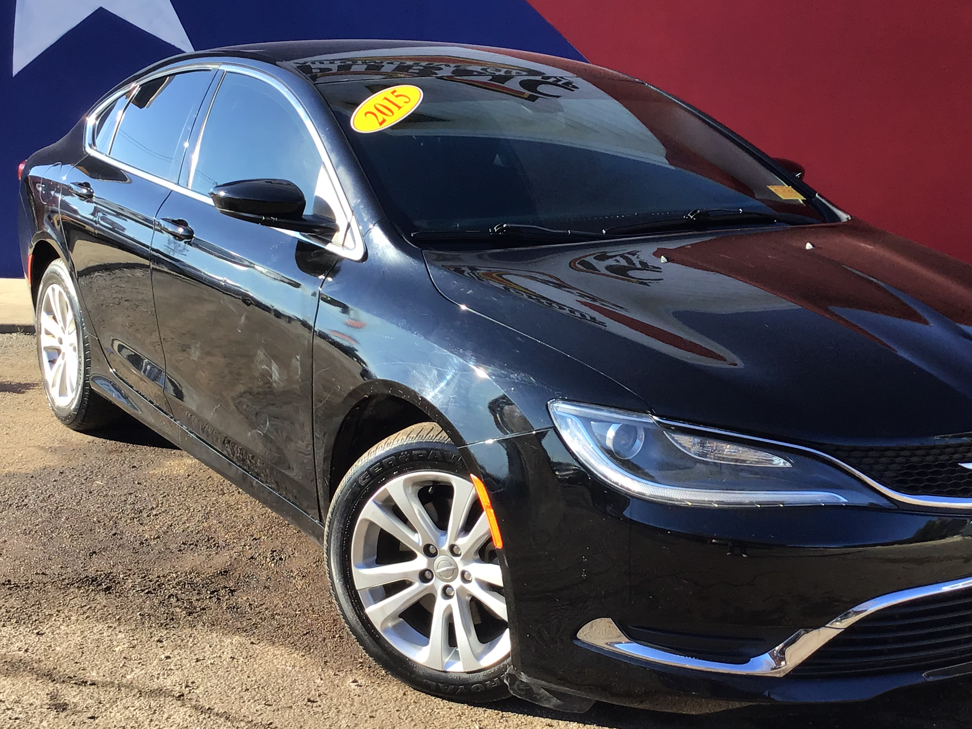used vehicle - Sedan CHRYSLER 200 2015